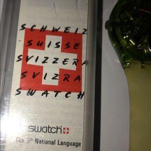 Swatch Accessories - 1991 SWATCH WATCH Fläck GZ 117